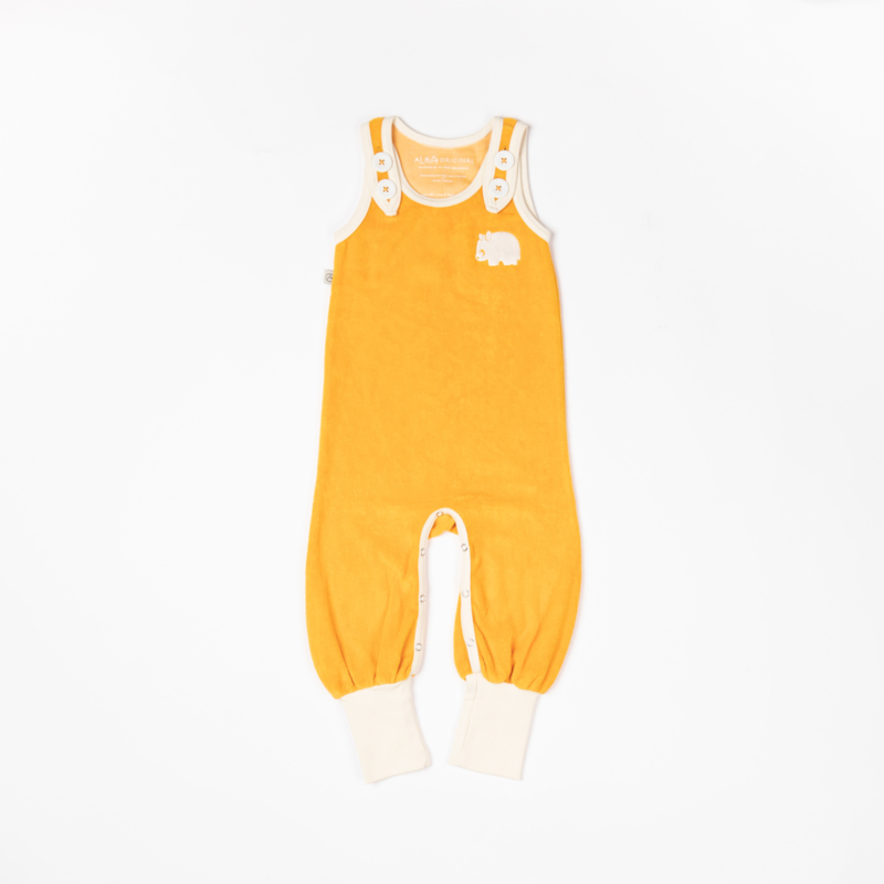 Jumpsuit / playsuit Albababy, Happy Crawlers Beeswax