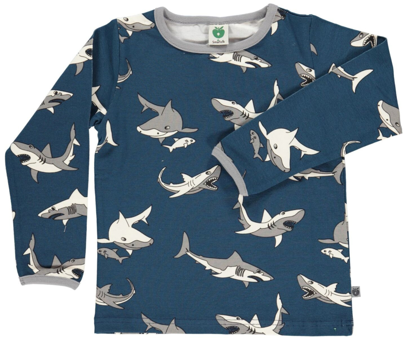 T-shirt long Smafolk, Shark 86-92