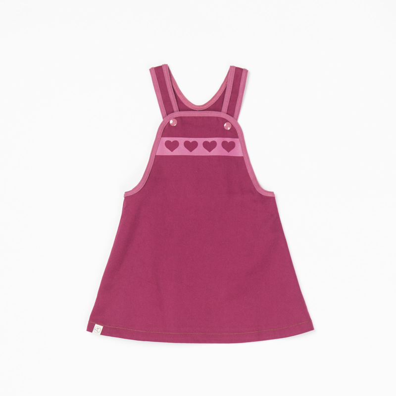 Jurk/ overgooier Albababy, Mary Spencer Purple Potion 92