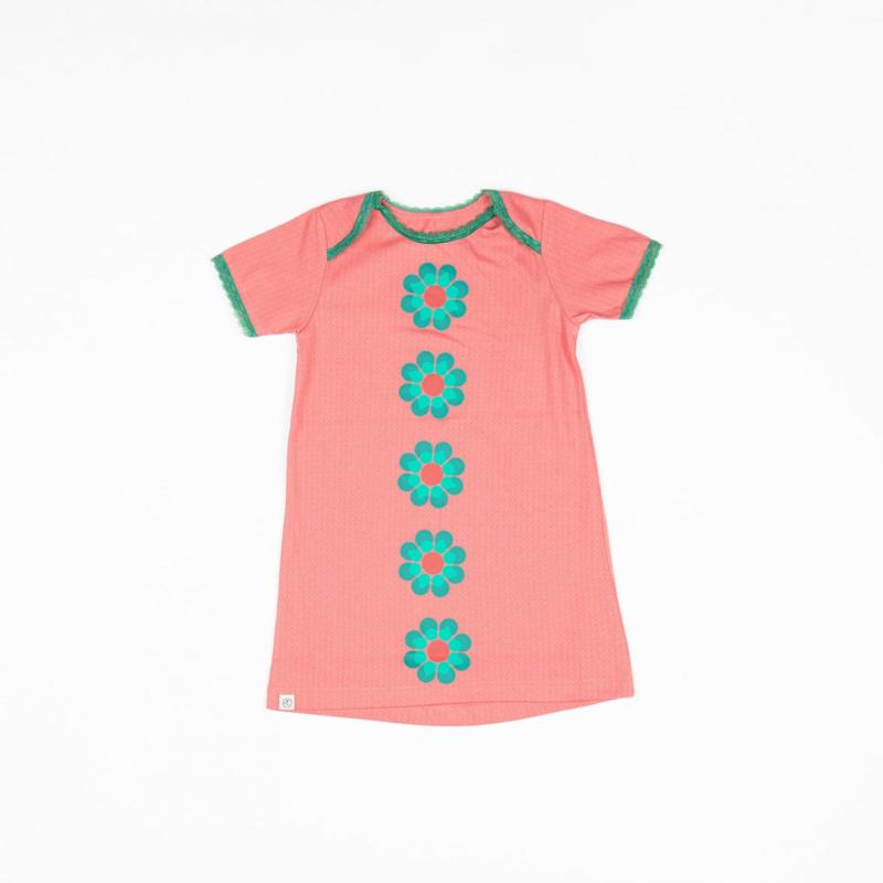 Jurk / Dress Albababy, Emmie Flower Dress tea Rose