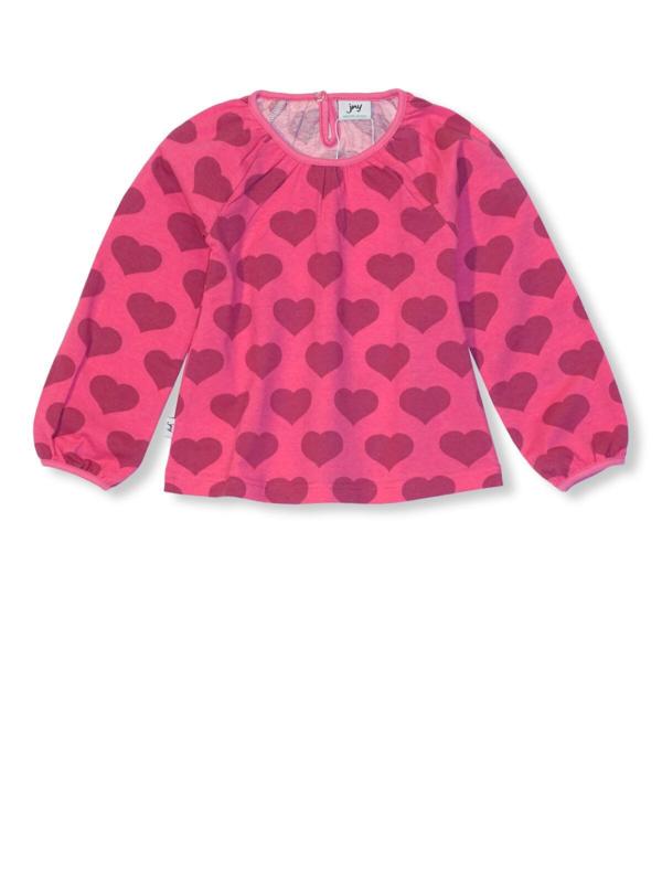 T-shirt puffy long / longsleeve JNY, Hearts 86, 92 of 98