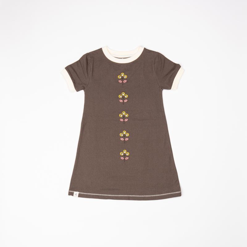 Jurk / Dress Albababy, Smilla chocolate brown