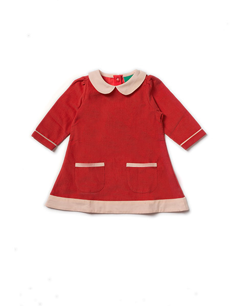 Dress, Tuniek Little Green Radicals, Red Tunic Dress 2-3y of 4-5y