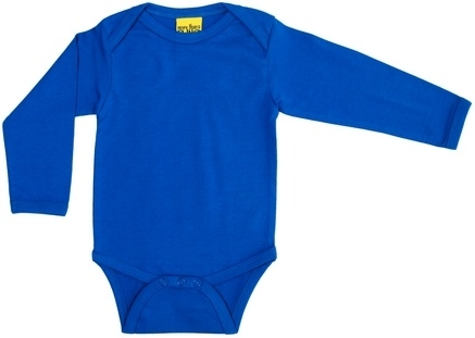 romper/ body More than a Fling, solid blue