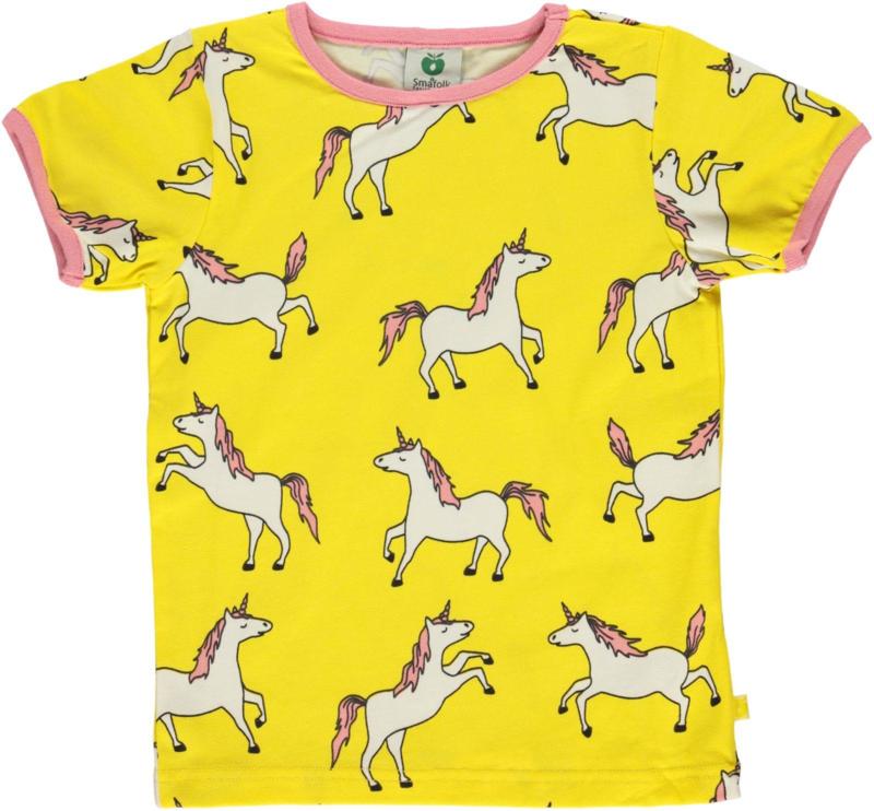 T-shirt  Smafolk, Unicorn - Maize 86-92 of 92-98