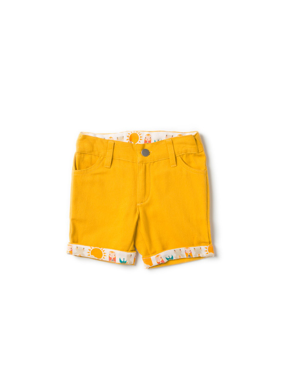 Broek / Shorts  Little Green Radicals, Gold Sunshine Shorts