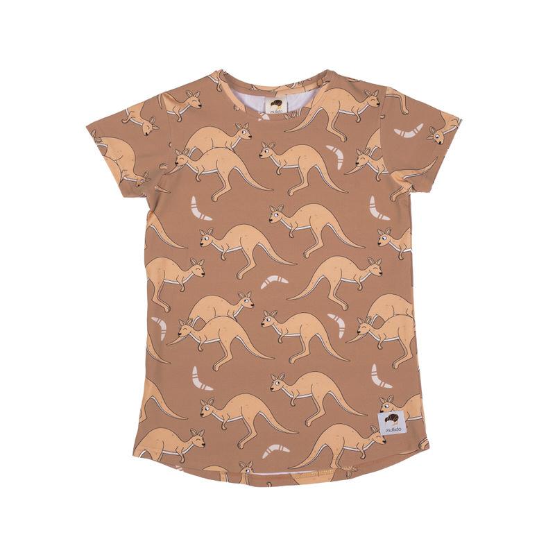 T-shirt Mullido, Kangaroo sand
