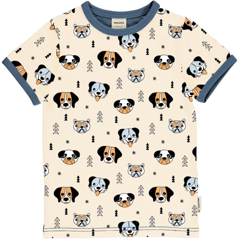 T-shirt Meyadey by Maxomorra, Happy Dogs