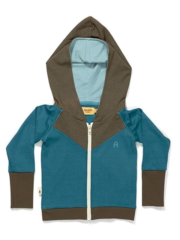Hoodie Albababy, Gustav Zipper Hood blue 92