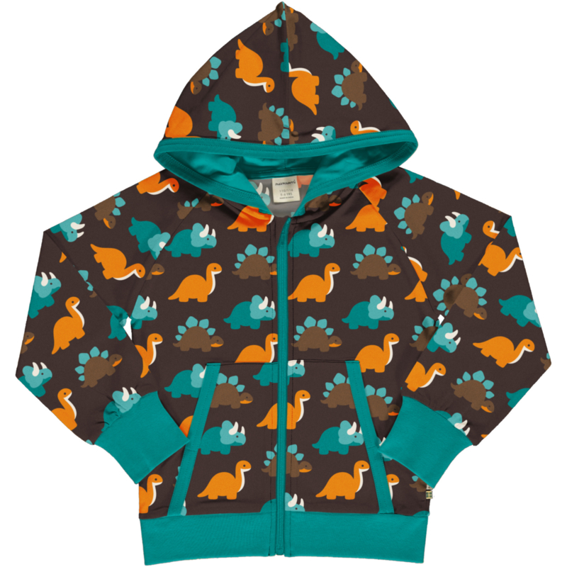 Hoodie Cardigan Maxomorra, Dinosaurs