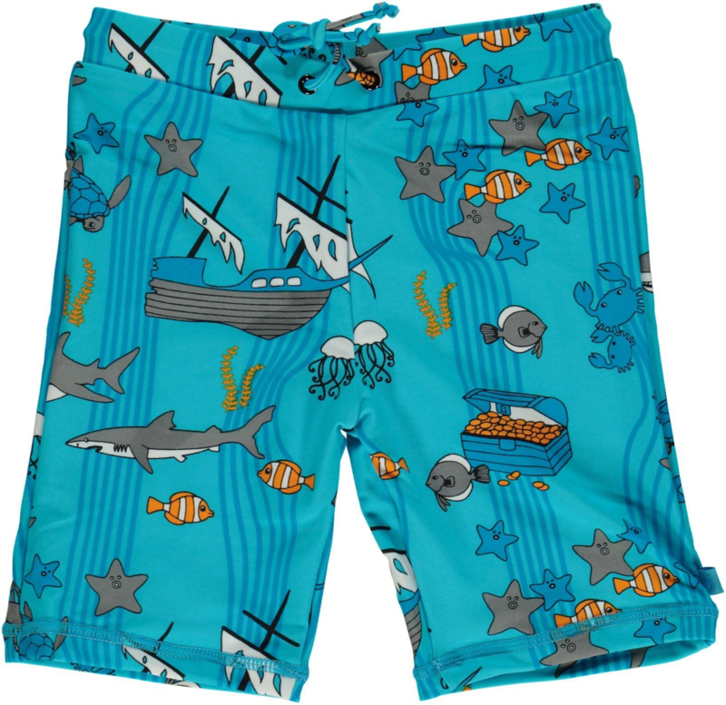 Zwembroek / UV swimpants Smafolk, Sea World Blue Atoll