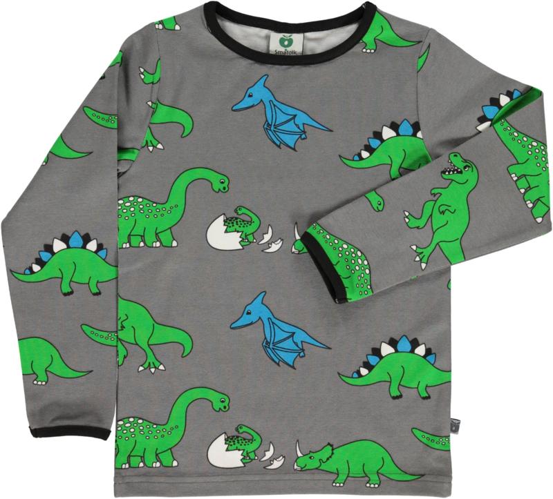 T-shirt long Smafolk, Dino wild dove