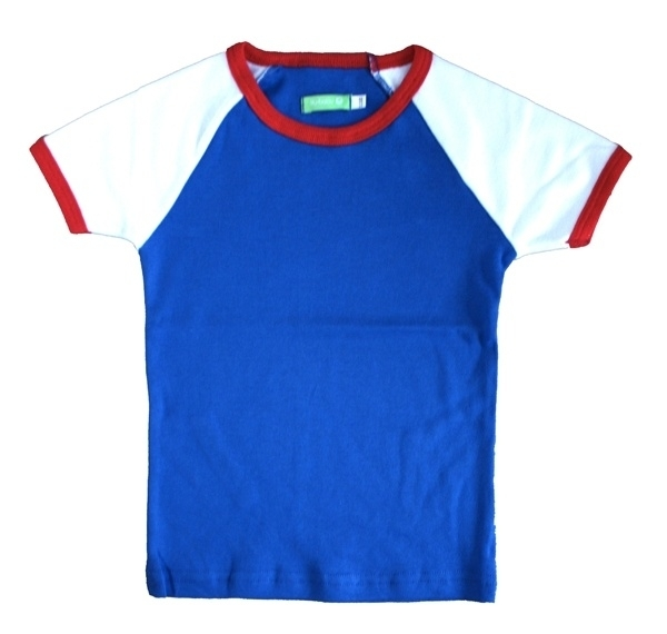 T-shirt Lily-Balou, blauw-rood 68, 74