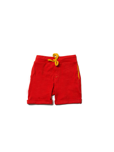 Broek /sweat Shorts  Little Green Radicals, Red beach short