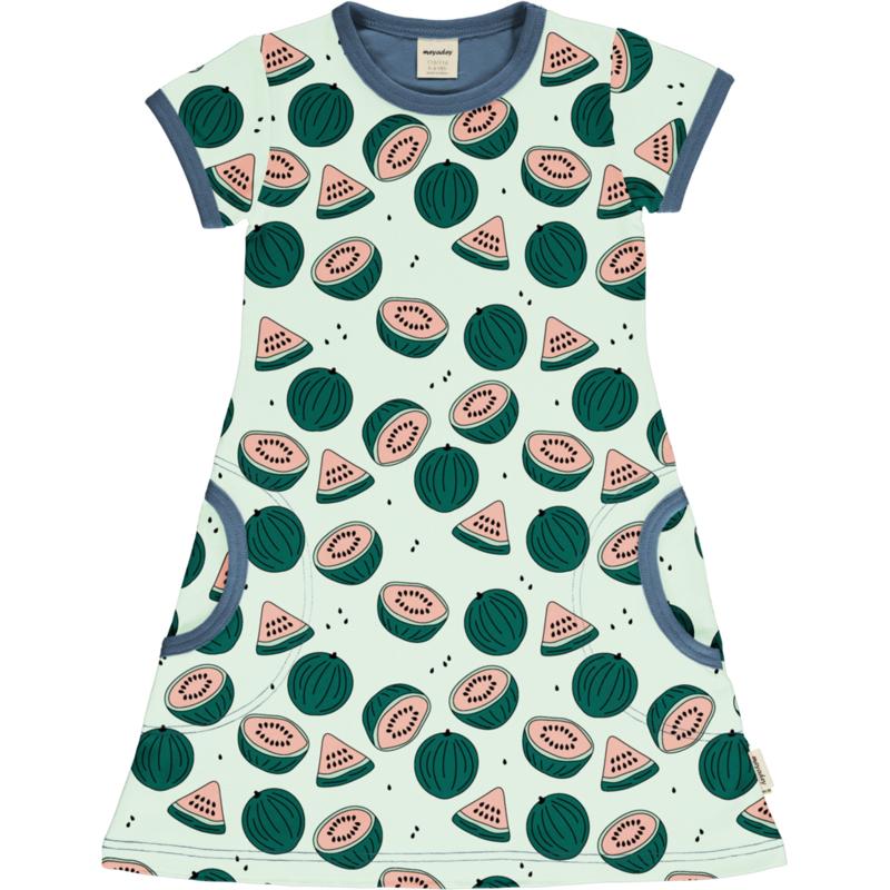 Jurk / Dress SS Meyadey by Maxomorra, Watermelon