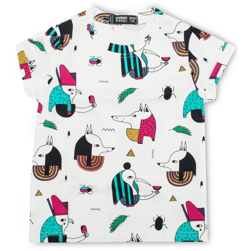 T-Shirt SS Raspberry Republic, Pharaoh Popsicle 80-86, 116-122 of 128-134