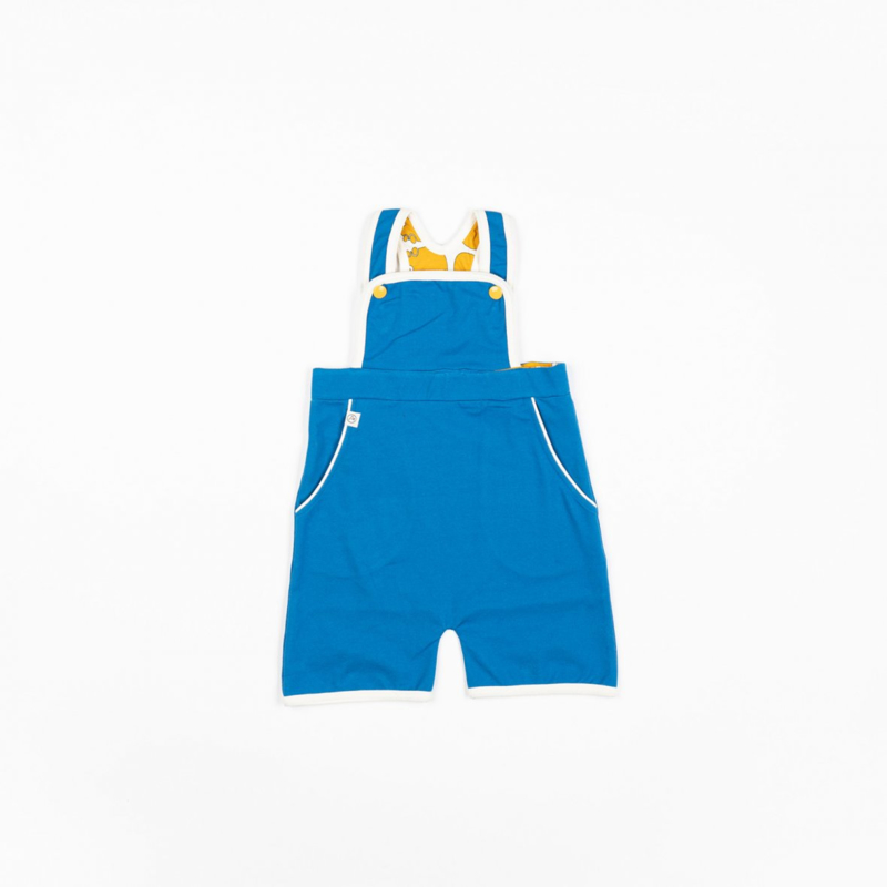 Jumpsuit / shortsuit Albababy, Gert Short Crawlers Snorkel blue