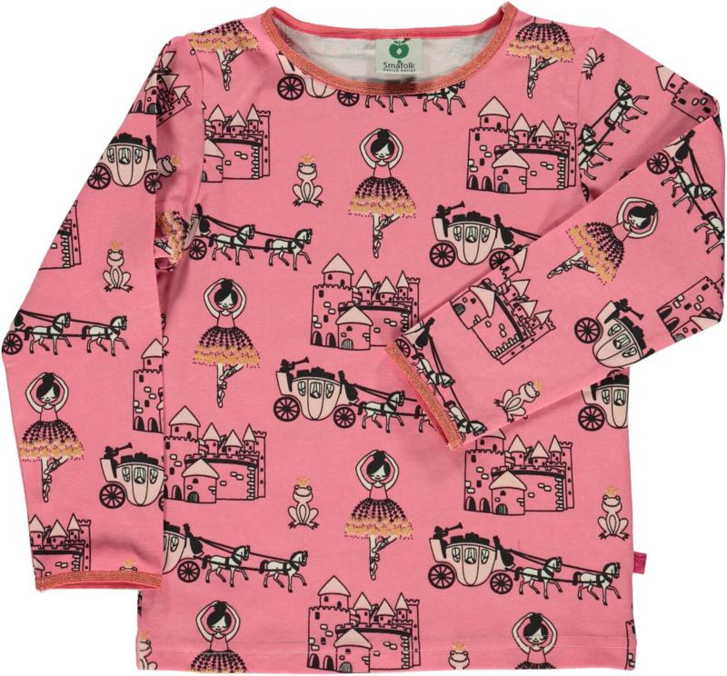 T-shirt long Smafolk, Princess rapture rose