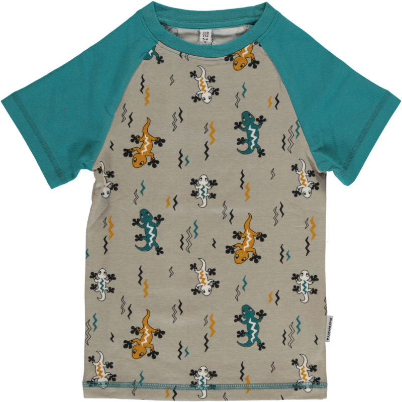 T-shirt Slim Maxomorra, Lizard 86-92