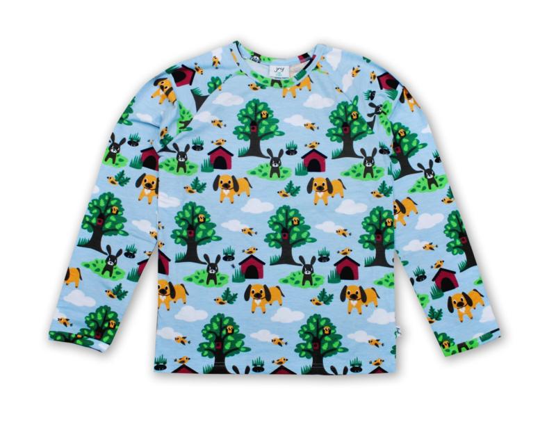 T-shirt long / longsleeve JNY,  Doby