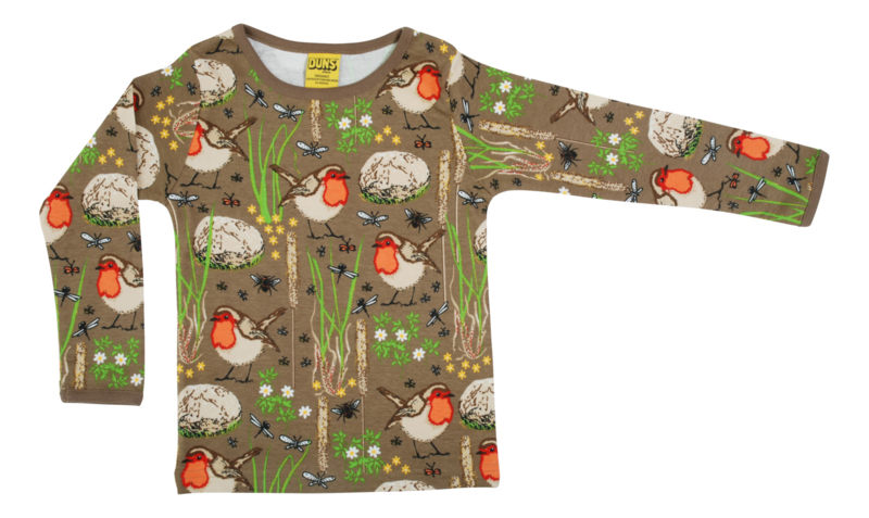 T-shirt Long  Duns Sweden, Robin Timber wolf