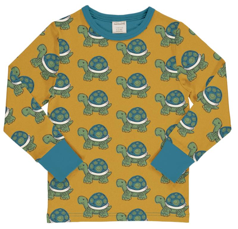 T-shirt long / longsleeve by Maxomorra,  Tortoise 86-92