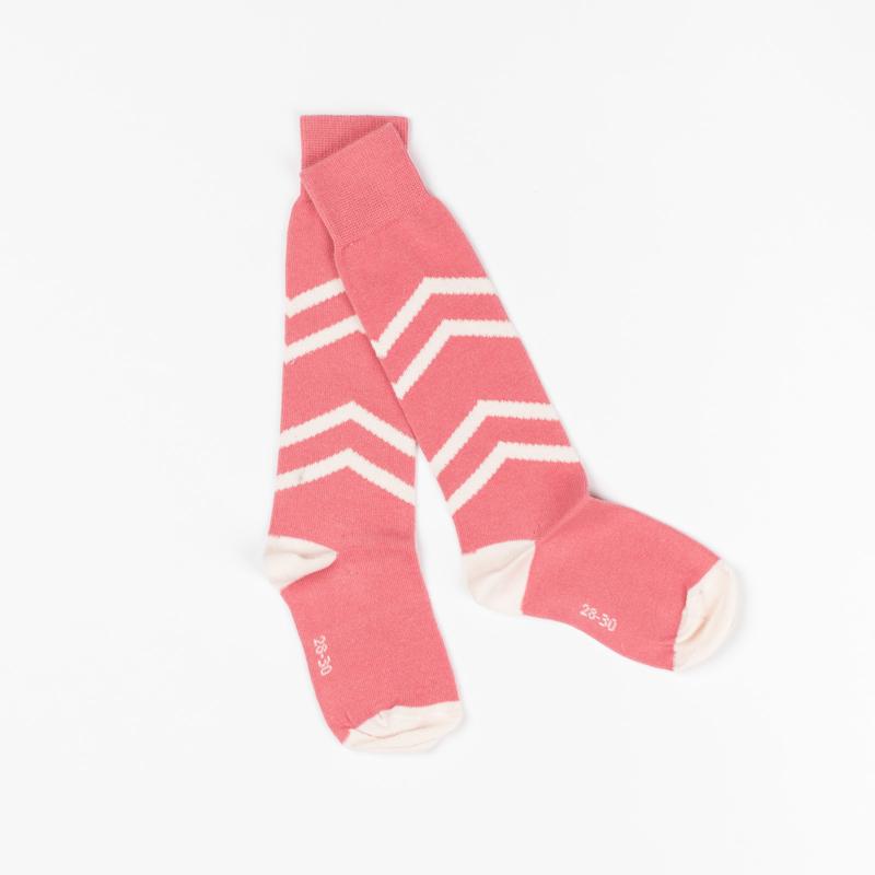 Sokken/ knee socks Albababy, peach blossom 16-18, of 19-21