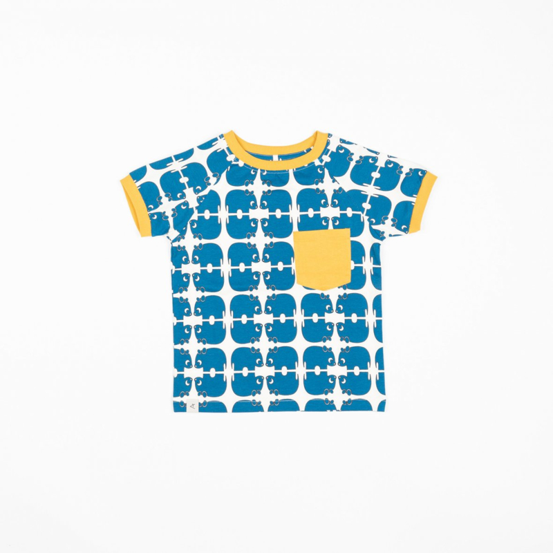 T-shirt Albababy, Simon Snorkel blue Wanne be an animal