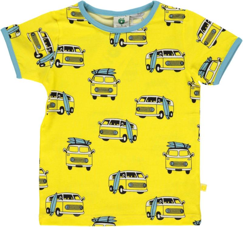 T-shirt  Smafolk, Surf Car - Maize