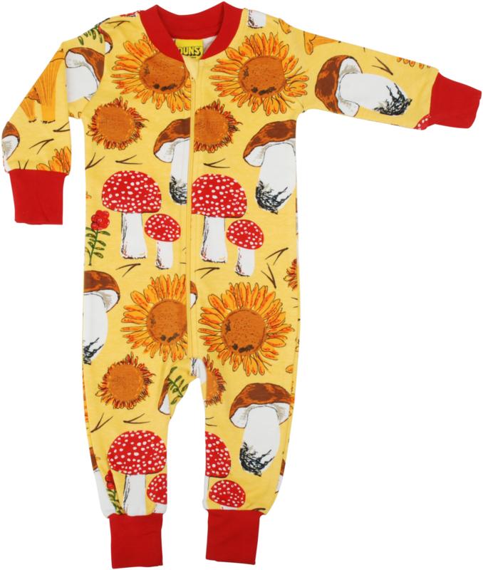 Jumpsuit/ Zipsuit DUNS Sweden,  Sunflower yellow
