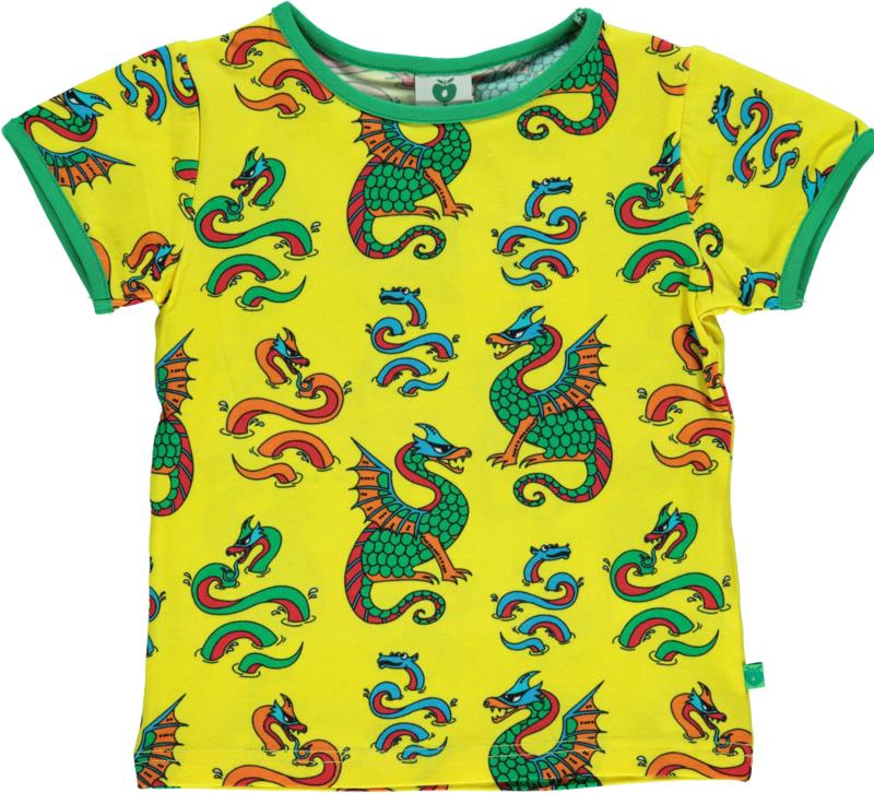 T-shirt  Smafolk, Dragon yellow