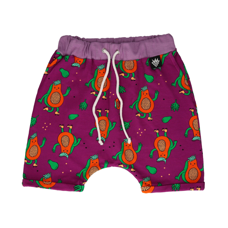 Sweatshort Raspberry Republik, Papaya power