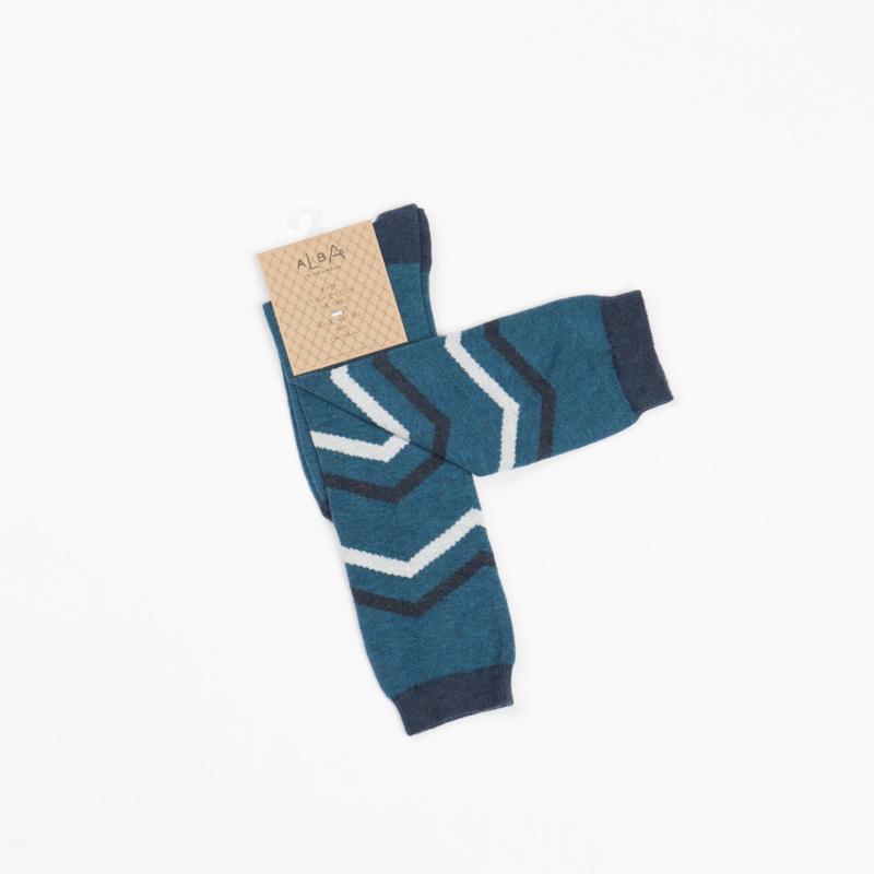 Sokken/ knee socks Albababy, Blue Coral
