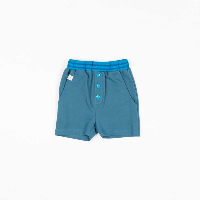 Short Albababy, Mike knickers Bluesteel