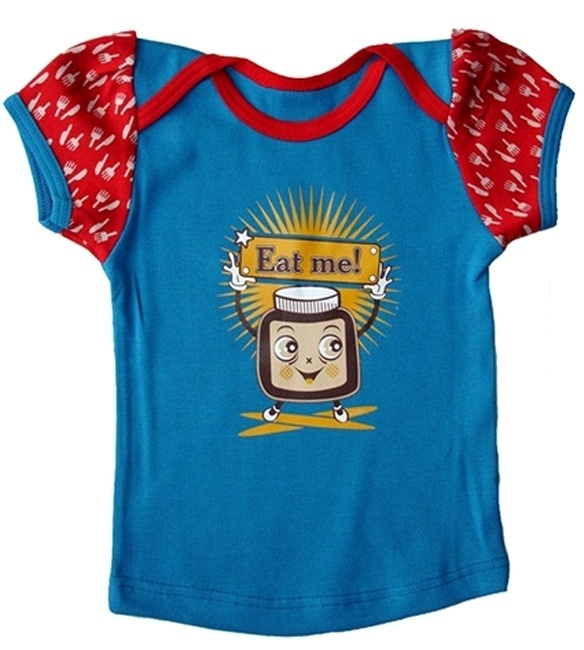 T-shirt RRR, Eat me! choco 62-68 of 74-80