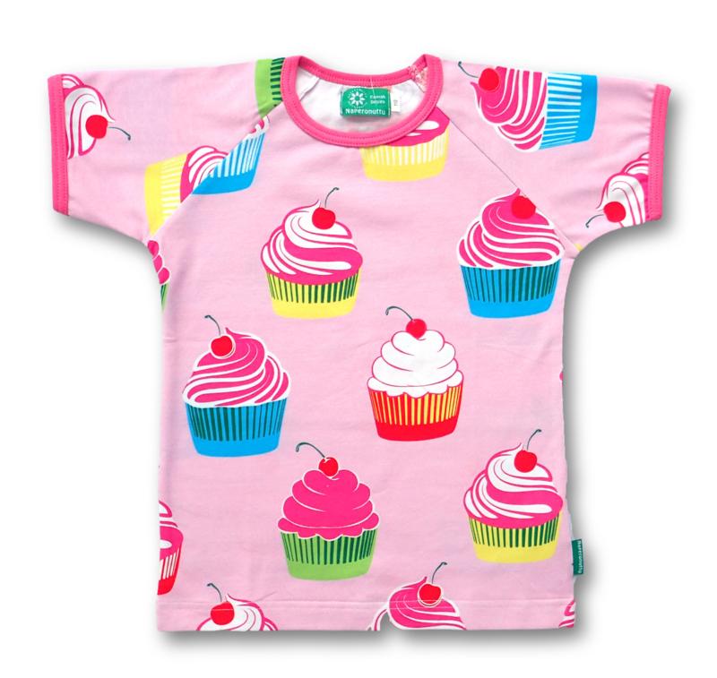 T-shirt Naperonuttu, Cupcakes  86