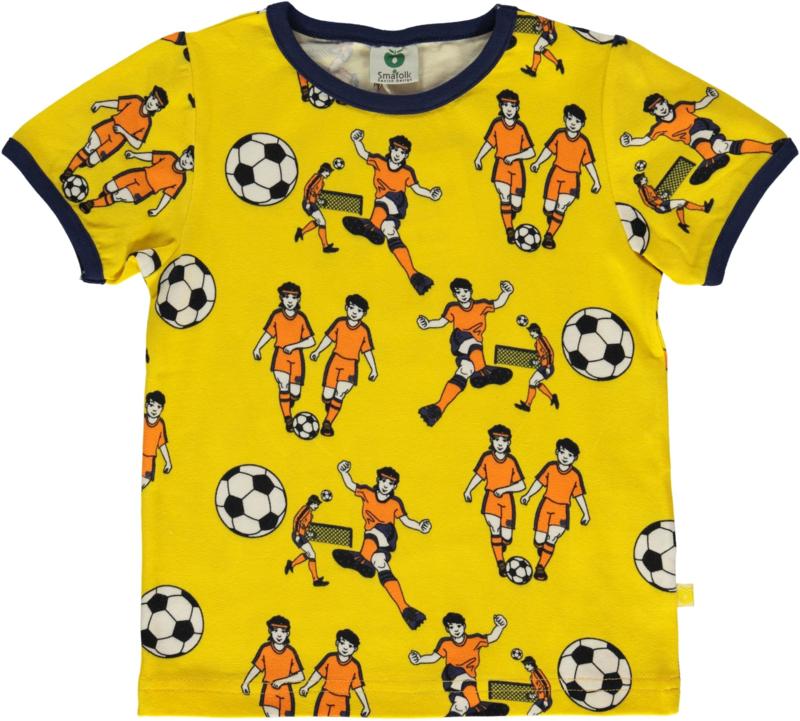 T-shirt  Smafolk, Football yellow