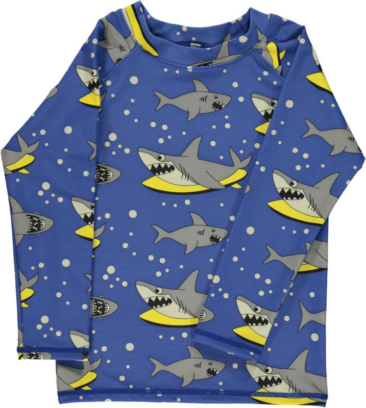 UV swimshirt LS Smafolk, Shark