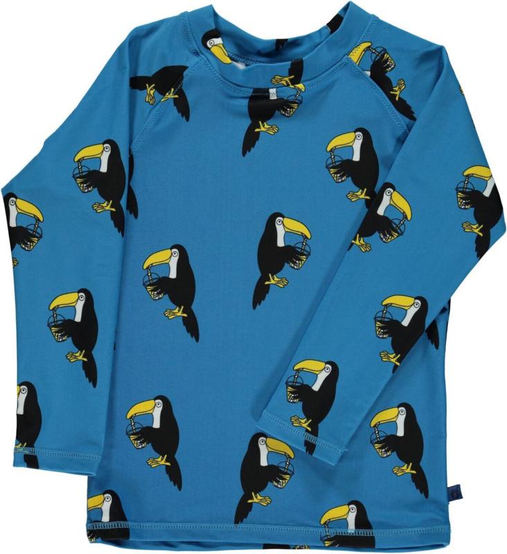 UV swimshirt Smafolk, Toucan blue