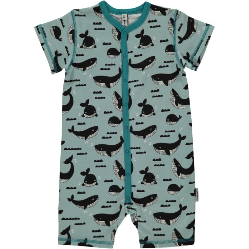 Jumpsuit / shortsuit Maxomorra,Whale Ocean 50-56