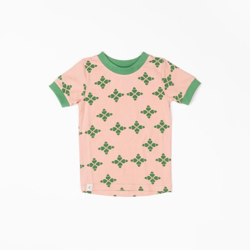 T-shirt Albababy, Bella Peach Beige Big Heart
