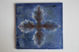 Glastegel - Blauw