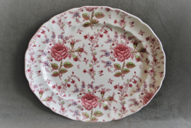 Johnson Bros - Rose Chintz - Grote Ovale Schaal