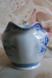Japan - Fine China Japan - Blue Rose - Roomkannetje