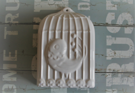 Puddingvorm - Vogelkooi - Wit