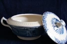 Societé Ceramique Maestricht - Boerenhoeve - Soepterrine