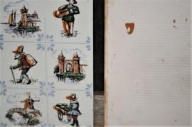 Merkloos - Tegel - Middeleeuwse Afbeeldingen