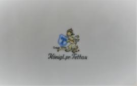 Königlich pr. Tettau - Kobalt/Goud - Sauskom
