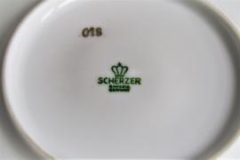 Scherzer - Kop en Schotel - Helderrode Roos