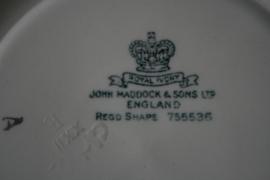 John Maddock - Minerva - Dinerbord